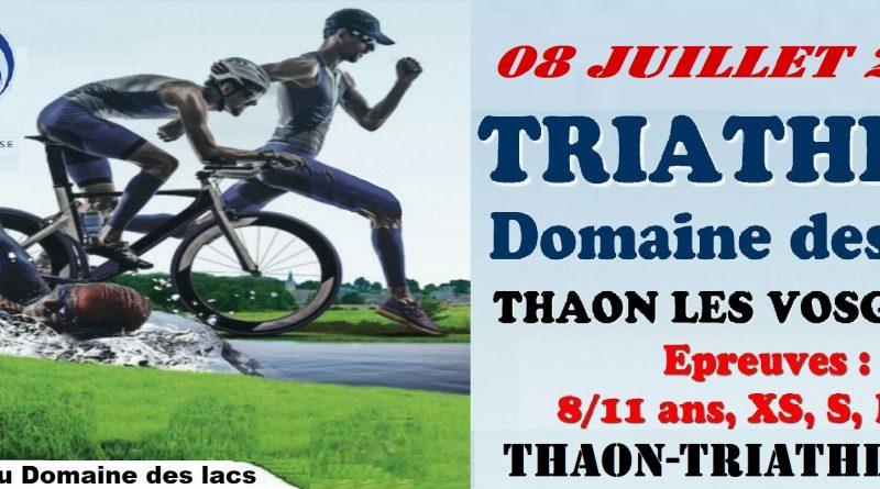 Triathlon de Thaon les Vosges
