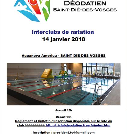 Interclub de natation de Thaon-les-Vosges